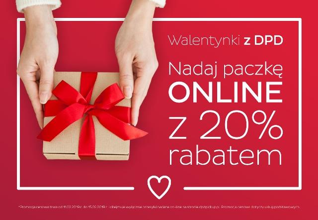 Walentynkowa promocja DPD Polska