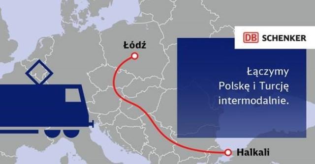 Transport intermodalny Polska - Turcja