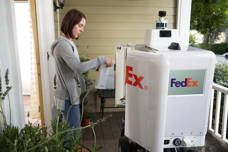 Autonomiczny kurier FedEx