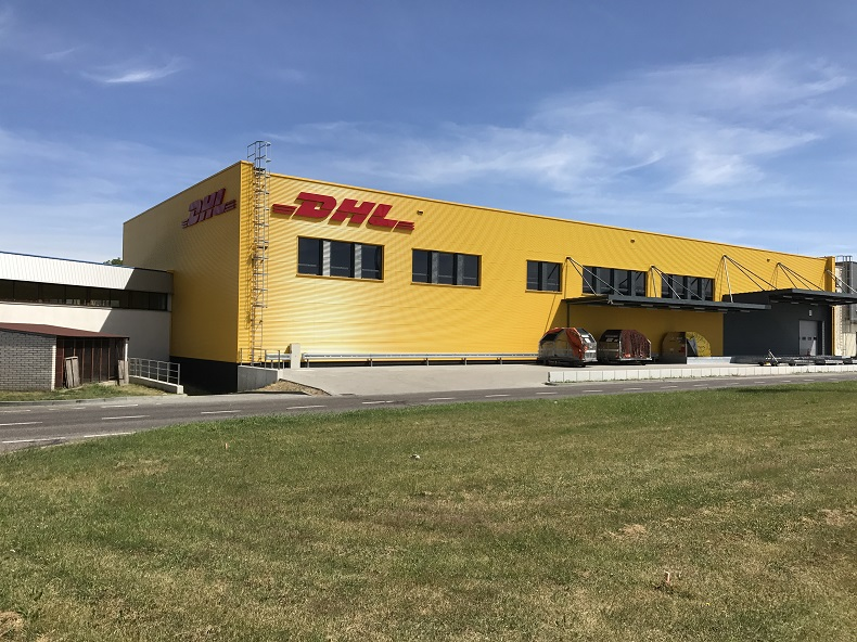 Centrum logistyczne DHL w Krakowie
