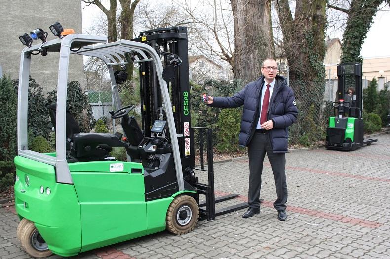 Wózki widłowe na Konferencji Specjalistów Logistyki