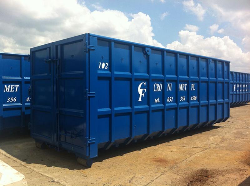 Gospodarka kontenerami – nowy projekt, wiele możliwości