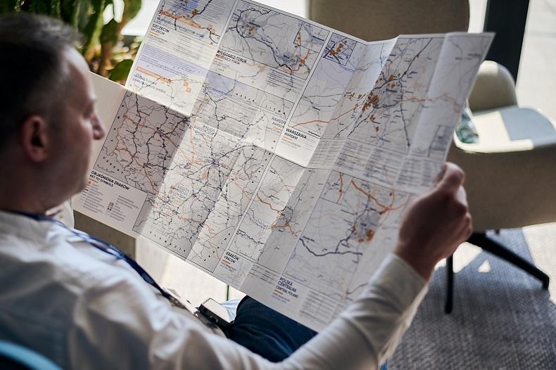 Zaktualizowana mapa magazynowa