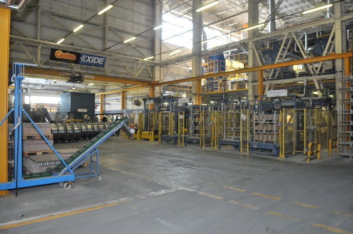 Fabryka akumulatorów Exide w Poznaniu