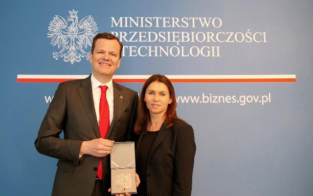 Ewald Raben uhonorowany medalem
