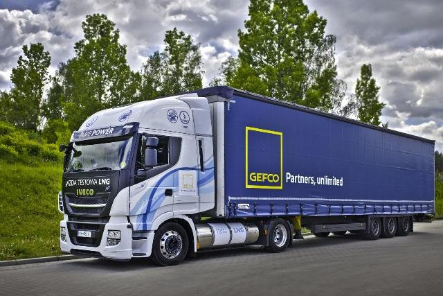 GEFCO testuje ciężarówkę z silnikiem gazowym