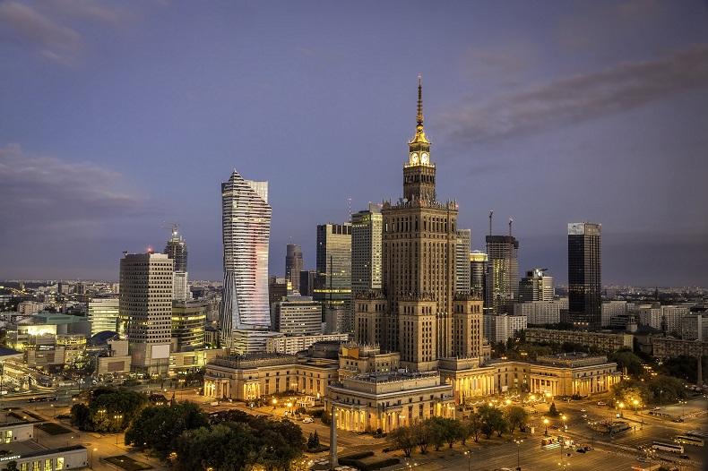 Londyńskie City  w Warszawie