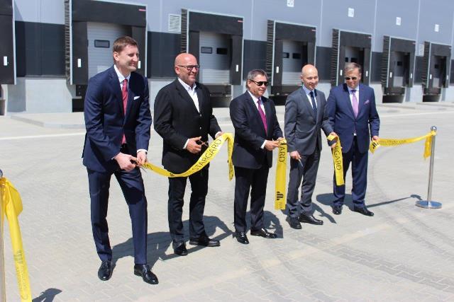 Otwarcie Hali A Waimea Logistic Park Stargard