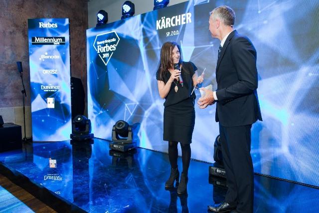 Kärcher wyróżniony Diamentem Forbesa 2019