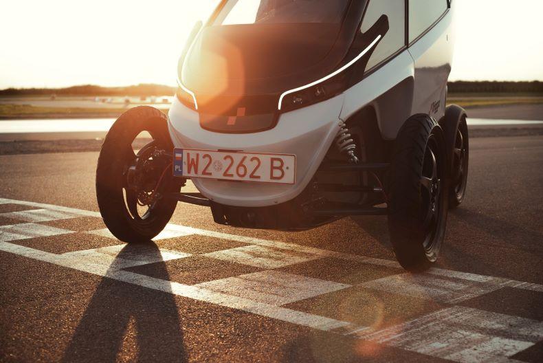 Testy polskiego innowacyjnego pojazdu