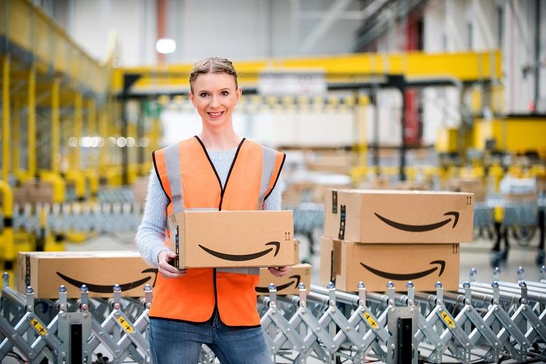 Nowe centrum logistyczne Amazon w Okmianach k. Bolesławca