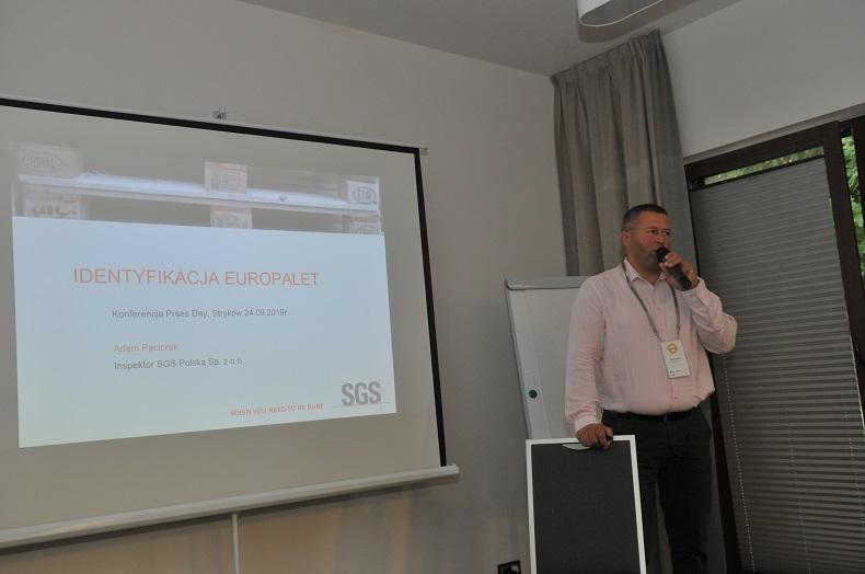 Adam Paciorek, SGS Inspektor Industrial services