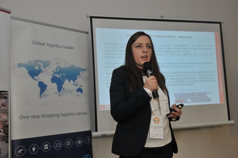 Sylwia Świątek-Żołyńska, ekspert ds posadzek przemysłowych z firmy Bautech