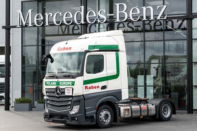Flota Raben wzbogaci się o innowacyjne Mercedesy Actros