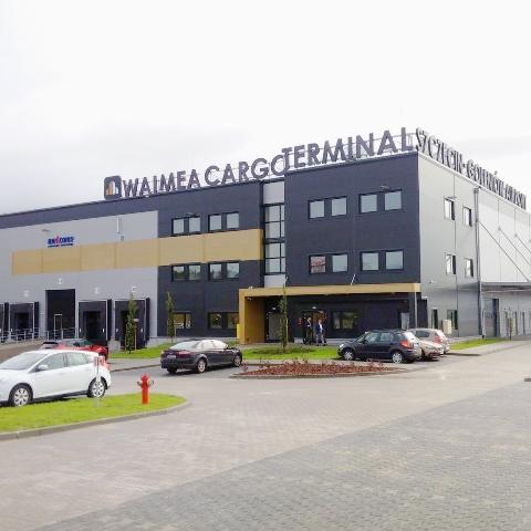 Otwarcie Waimea Cargo Terminal Airport Szczecin-Goleniów