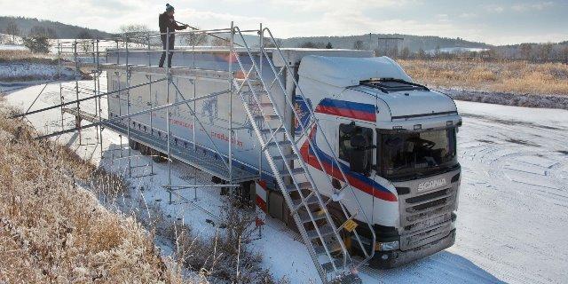Zimowa jazda i bezpieczeństwo na drodze