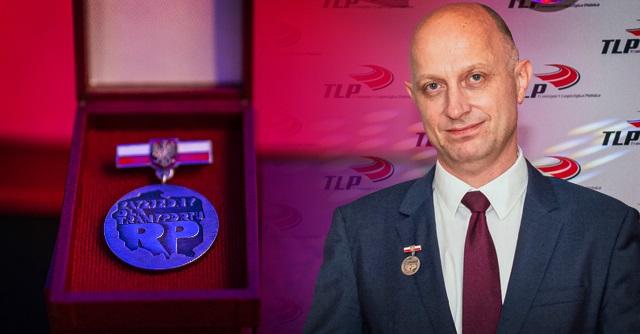 Honorowa odznaka dla dyrektora generalnego Raben Transport