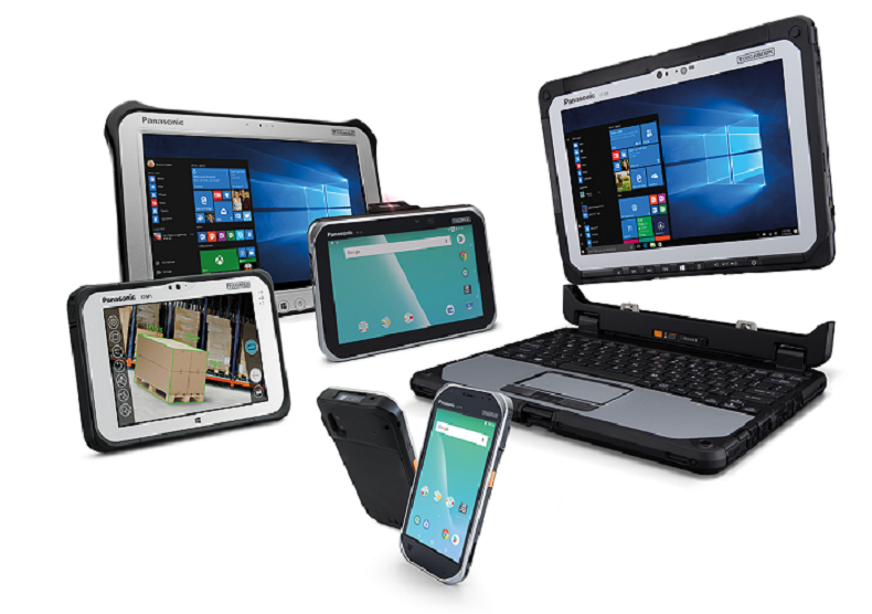 Na czele wzmocnionych tabletów i notebooków w Europie