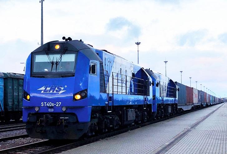 Pierwszy pociąg z Chin do Polski szerokim torem LHS bez przeładunku na granicy