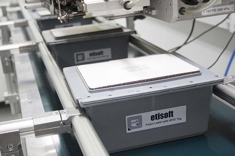 Etykiety do oznaczenia skrzynek wielokrotnego użytku
