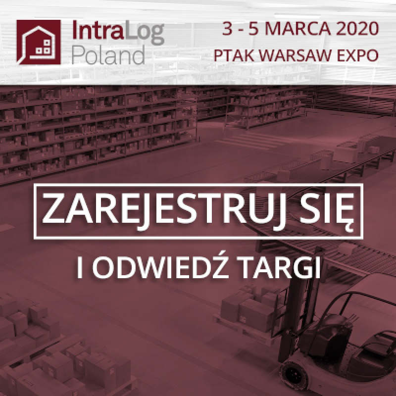 Rejestracja na targi IntraLog Poland już otwarta!