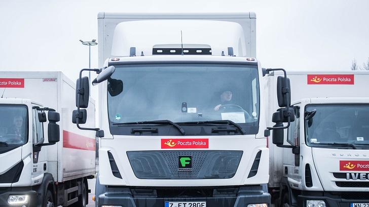 Testy największej elektrycznej ciężarówki