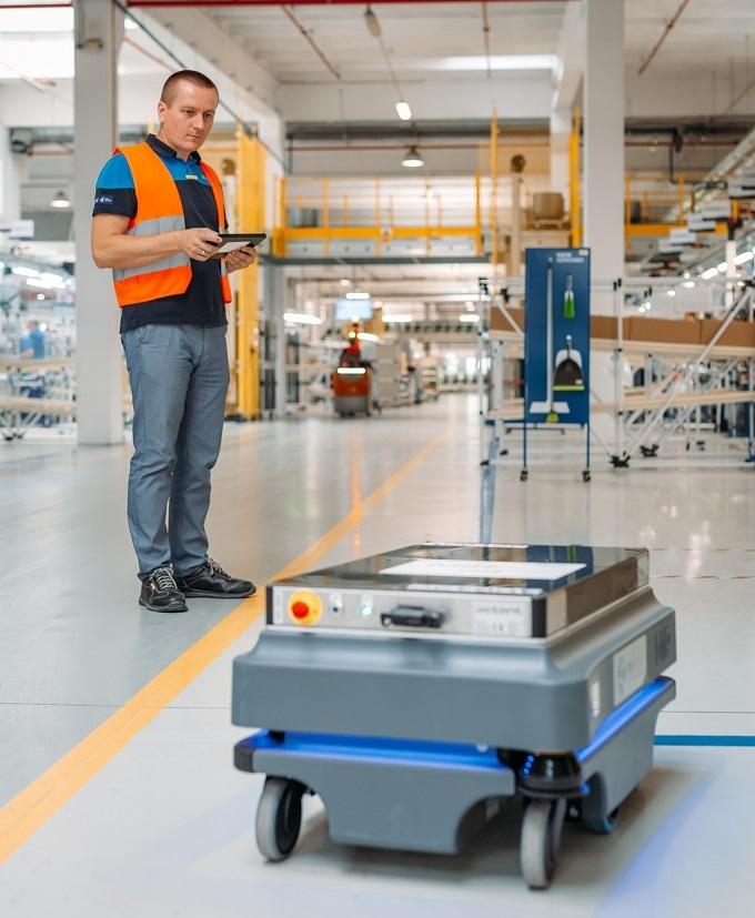 Zbadano potencjał autonomicznych robotów mobilnych