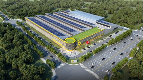 Nowa fabryka firmy Interroll w Suzhou