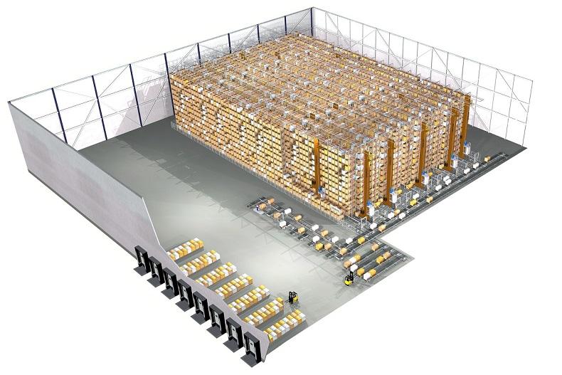 Technologia zautomatyzowanego przechowywania palet