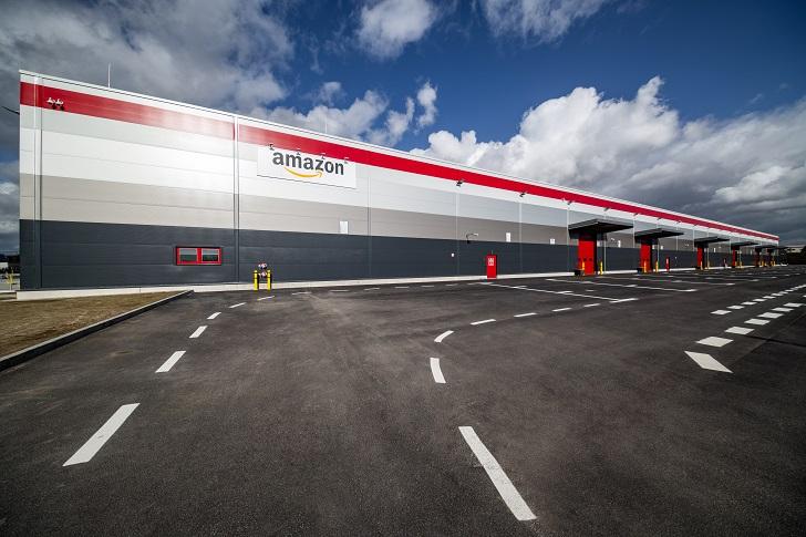 Miejski obiekt logistyczny dla firmy Amazon