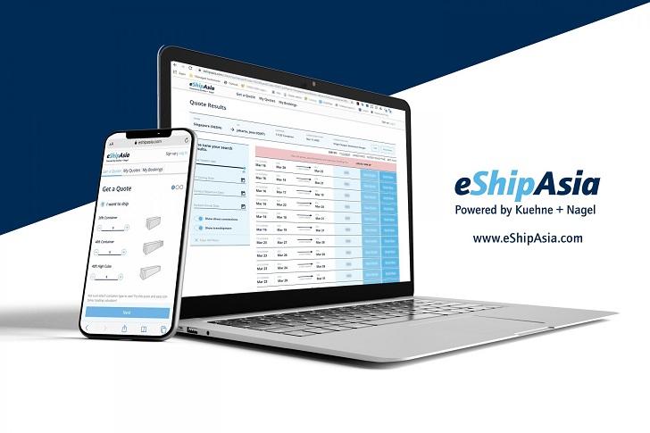 Kuehne + Nagel wprowadza platformę eShipAsia