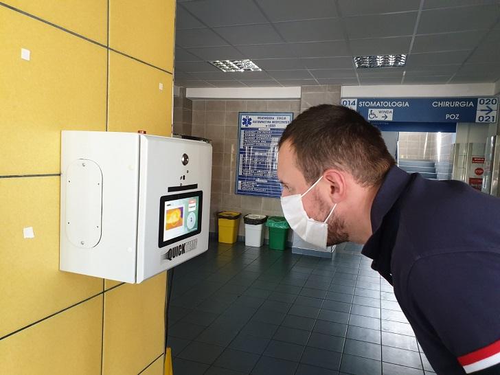 QuickTemp sprawdzi temperaturę przed pracą