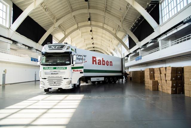 Raben wspiera w walce z pandemią koronawirusa