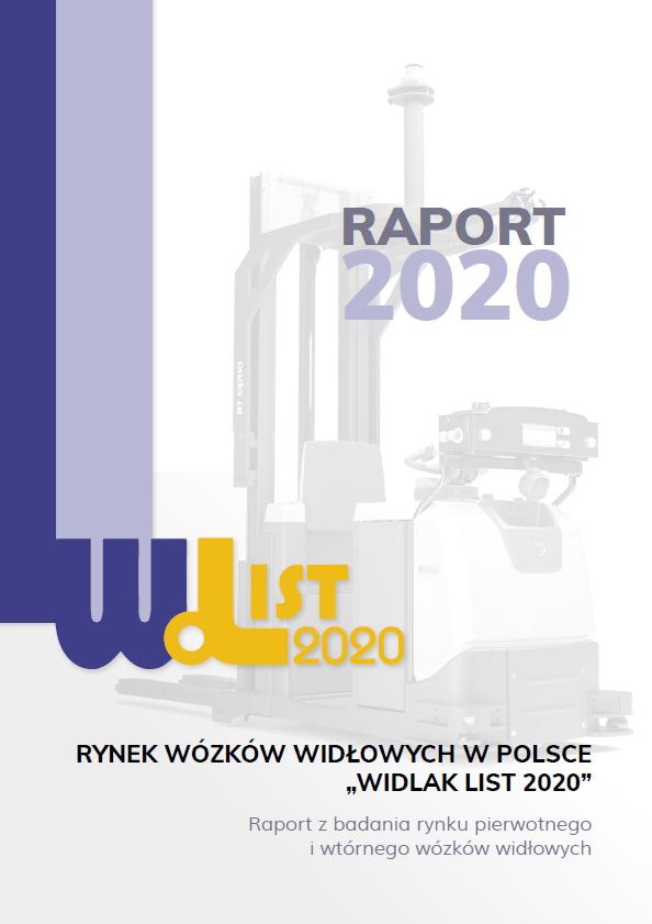 Rynek wózków widłowych Widlak List 2020
