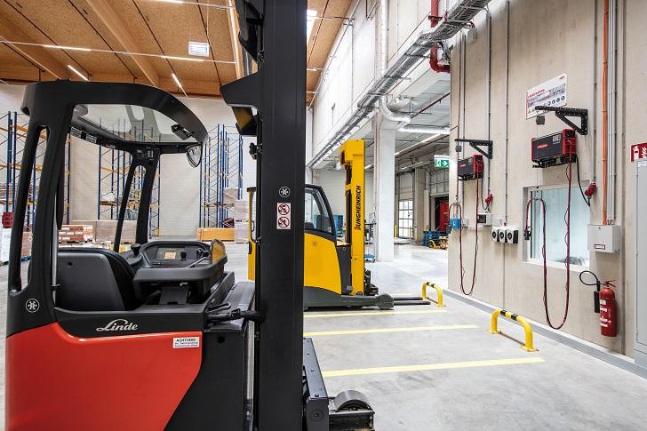 HAVI Logistics stawia na technikę ładowania firmy Fronius