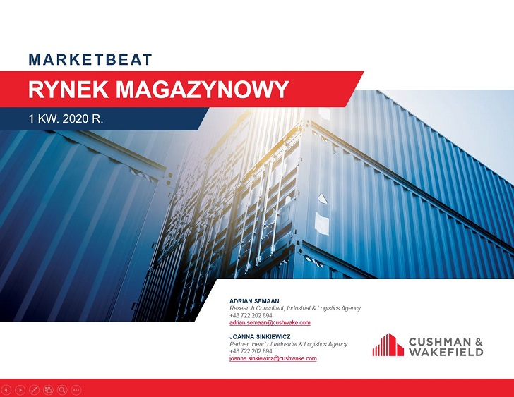 Rynek magazynowy w I kw. 2020r.