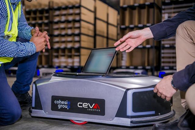 CEVA Logistics wdraża dla e-commerce mobilne roboty