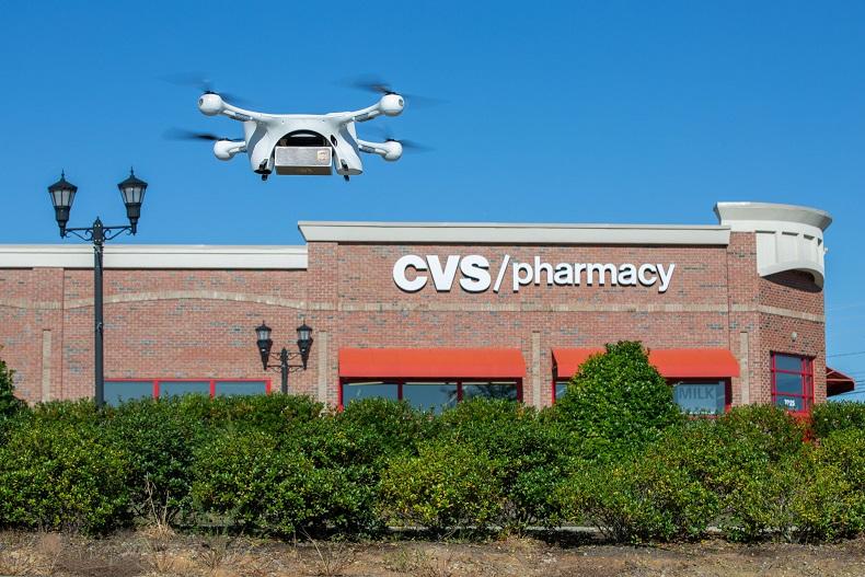 Drony wspierają walkę z COVID-19