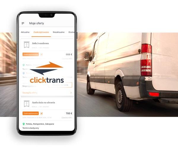 Aplikacja usprawnia pracę przewoźników