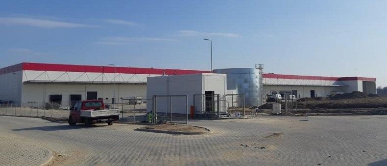 Budowa fabryki KION Group w Kolbaskowie