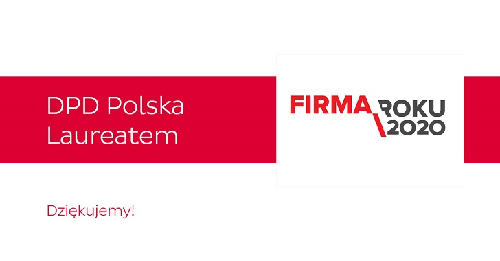 DPD Polska Firmą Roku 2020