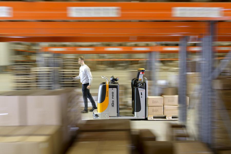 "COVID-owy ""paradigm shift"" w logistyce"