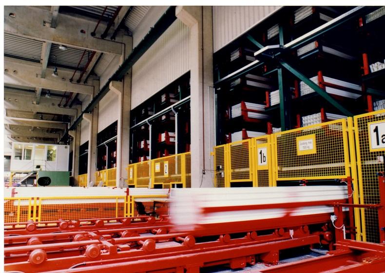 Automatyzacja składowania w branży okiennej