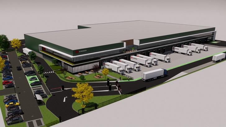 Nowe centrum logistyczne DB Schenker w Luksemburgu