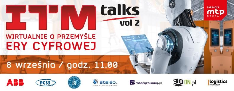 Roboty autonomiczne i cyfrowa transformacja podczas ITM_talks 2