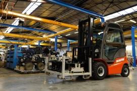 Nowy wózek widłowy spalinowy Manitou MI25G (LPG)