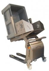 Wózek ręcznie prowadzony z elektrycznym systemem przechyłu ULMA (EBT10)