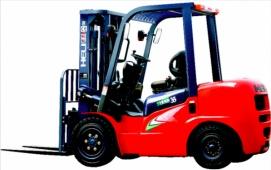 Wózek widłowy spalinowy HELI serii G CPCD25-KU11G