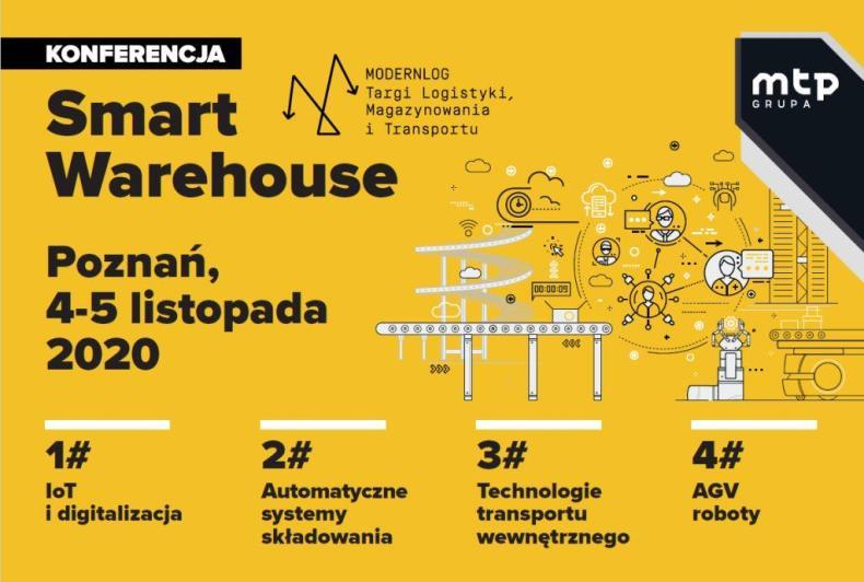 Konferencja Smart Warehouse przy targach Modernlog_
