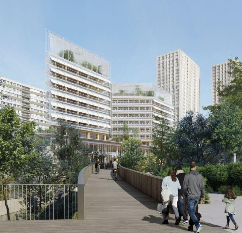 Innowacyjne, podziemne centrum logistyczne w samym centrum Paryża